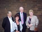 Councillor Brenda Kerslake with her fellow Councillors and Lib Dem Leader Sir Menzies Campbell.