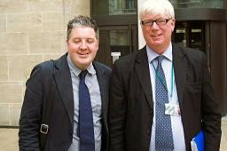 Paul Rowen MP and Councillor Dale Mulgrew meeting Ivan Lewis MP
