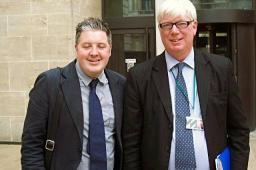 Paul Rowen MP alongside Rochdale's Health Boss Dale Mulgrew