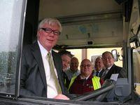Paul Rowen MP and Councillor Dale Mulgrew - Campaigning Against the Privatisation of Rossendale Transport