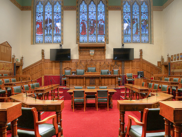 Rochdale Council Chamber