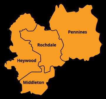 Rochdale Borough Map (Rochdale Liberal Democrats)