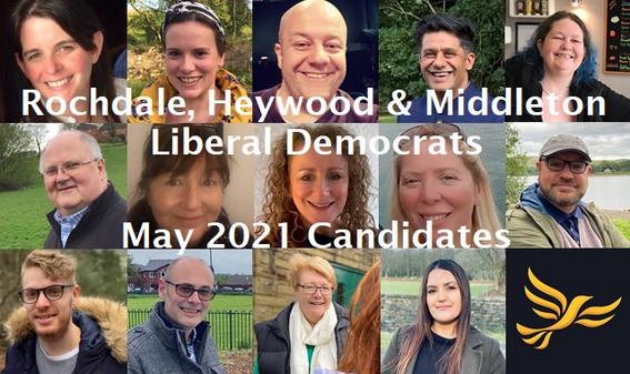 2021 Candidates (Rochdale Liberal Democrats)